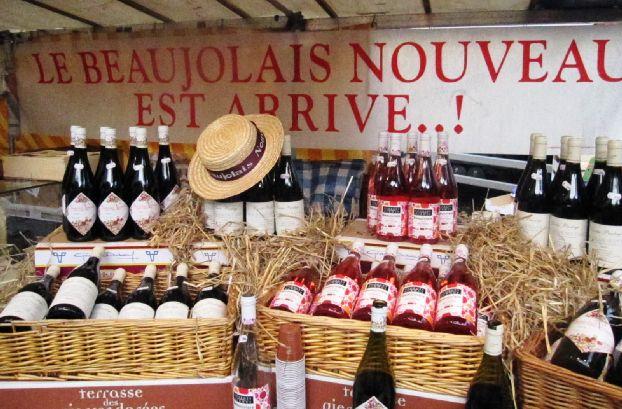 Beaujolais Nouveau - пробуем вино нового урожая винограда