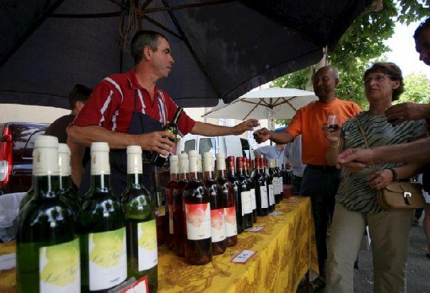 Дегустация вина во Франции