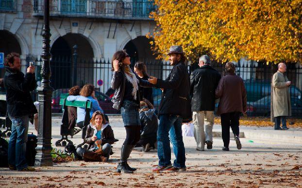 В октябре в Париже значительно холодает