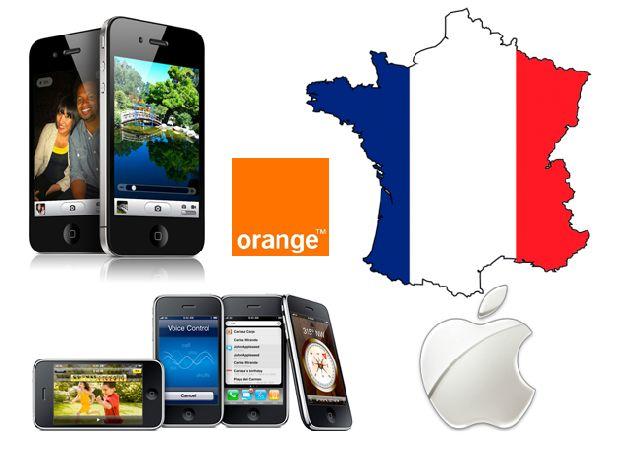 Мобильная концерн Orange  во Франции