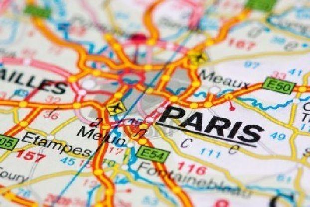 Полное собрание самых разных карт Парижа