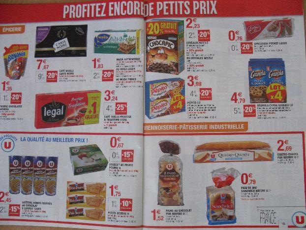 Разброс цен на продукты супермаркета