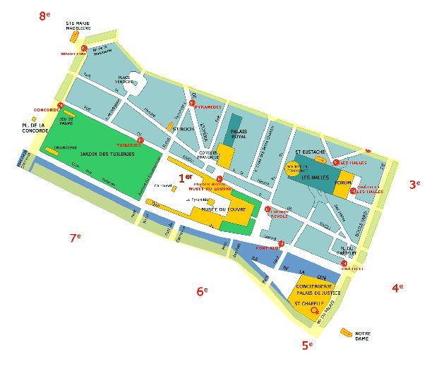 1-ый округ Парижа