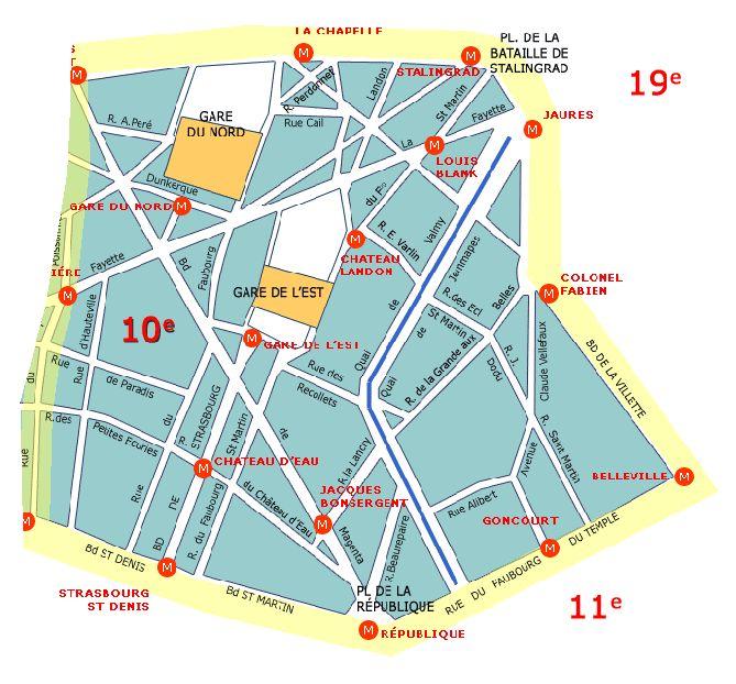 10-ый округ Парижа