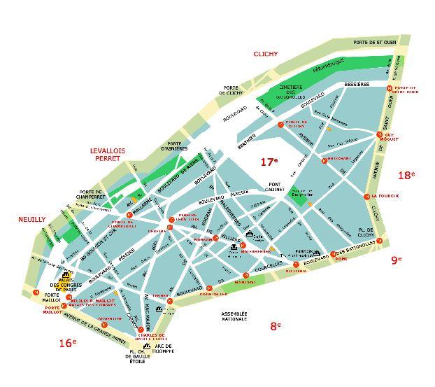 Интерактивная Карта Метро Парижа