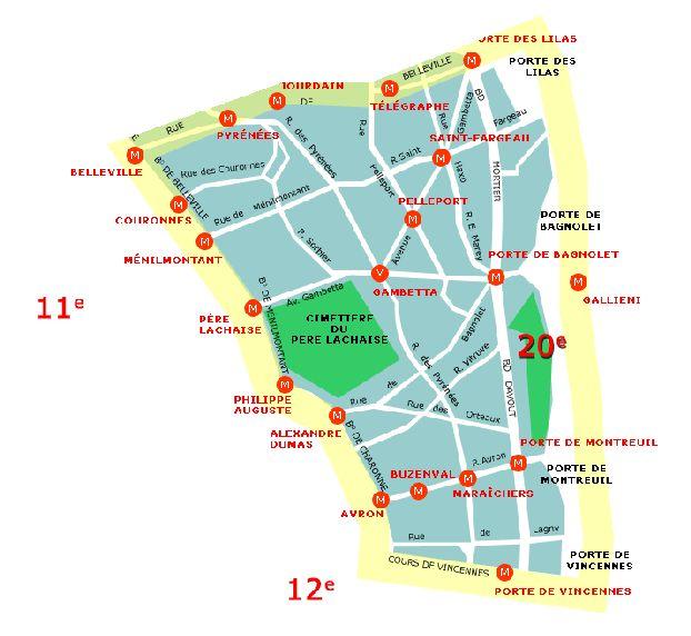 20-ый округ Парижа