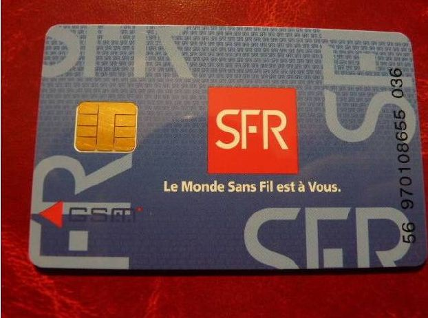 Sim-кaрта от SFR