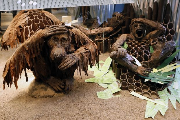 Шоколадные обезьянки от профессиональных французских шоколатье
