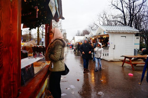 Рождественские рынки в Париже